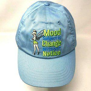 Tinkerbell Womens Blue Baseball Cap Hat